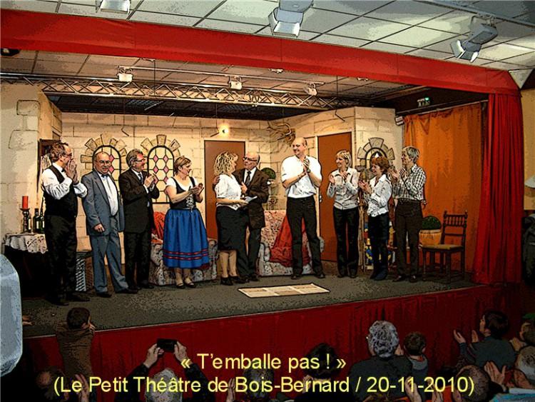 le Petit Théâtre de BoisBernard  BoisBernard  Site  ~ Bois Bernard Mairie